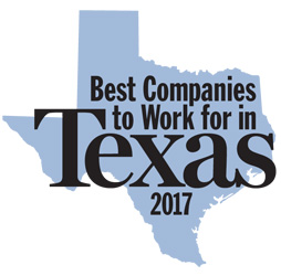Best Companies to Work for in Texas Award