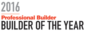 Professional Builder Magazine Builder of the Year 2016